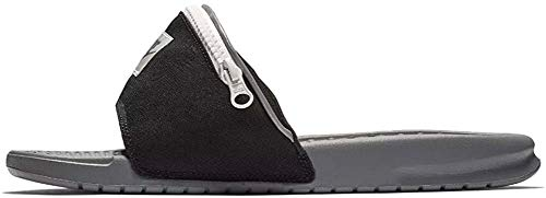 Nike Men's Benassi JDI Fanny Pack, Black/Cool Grey-Summit White, Size 10