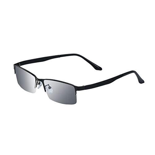 Klapptisch Progressive Multi Focus Lesebrille,Fern- und Nahbrillen mit doppeltem Verwendungszweck,High-Definition-farbwechselnde strahlungssichere Sonnenbrille für den Außenbereich,komfortabler