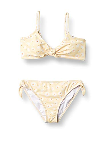 Billabong Damen Little Bit of Sunshine Hanky Tie Two Piece Swimsuit Bikini-Set, Mimose, 40