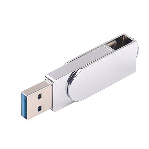 balikha 2 en 1 USB-C Dual USB 3.0 Tipo-a Lápiz USB Lápiz de Memoria Lápiz de Memoria Flash USB