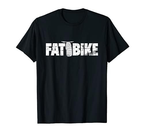 Fat Bike Shirt for Fat Tire Bikers Camiseta