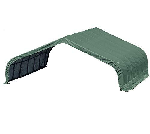 ShelterLogic Run-In-Shed Weidezelt, Weideunterstand 49,6m² // 680x730 cm (LxB) // Lagerzelt, Lagerhütte und Pferdestall
