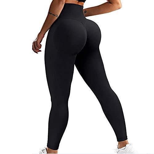 JIAYOUA Yogahose Damen Leggings Hohe Taille Sporthose Fitnesshose Bauchkontrolle Po Lift Anti Cellulite Yoga Hose Leggings Laufhose Sporthose Tights mit Taschen Länge Jogginghose