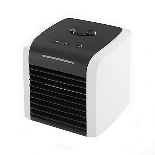 Acondicionadores aire móvil portátiles Pequeño aire acondicionado ventilador evaporativo refrigerador humidificador escritorio refrigerador ventilador hogar