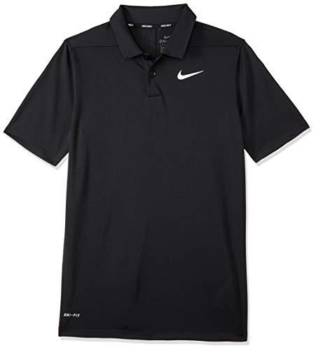 Nike Jungen Dri-Fit Victory Poloshirt, schwarz, XL