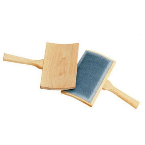 Schacht Hand Carders - 72 Medium - Curved