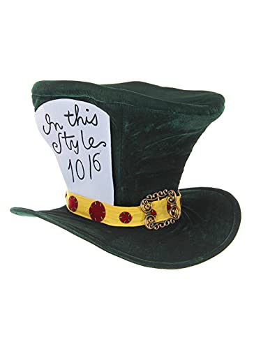 Oversized Green Mad Hatter Costume Hat for Adults...