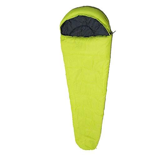 DLSM Outdoor camping combat ensemble avec double fermeture éclair maman sac de couchage enveloppé dans du tissu à carreaux dans le sac de couchage extérieur creux en coton couple, C3.