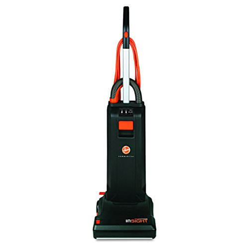 "Hoover CH50100 Insight-Quiet Industrial Upright, 10 Amp, 20 lb., 13"" Path, Black"