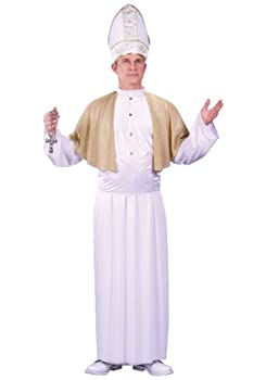 Fun World Pope Costume Standard White