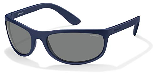 Polaroid P7334 C3 863 63 Occhiali da Sole, Blu (Bluette/Grey Polarized), Unisex Adulto
