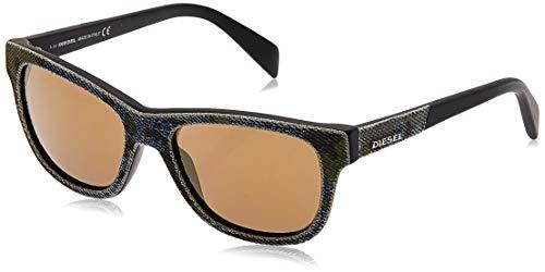 Diesel DL0111 5298G Sonnenbrille DL0111 5298G Wayfarer Sonnenbrille 52, Mehrfarbig