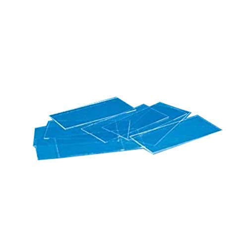 VWR 48393-230 Micro Cover, Rectangular, 0.16 to 0.19 mm Thickness, 40 mm Width, 24 mm Length, Glass (Pack of 10)