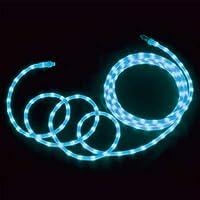 デンサン LEDソフトネオン(乳白ロッドタイプ) PR-E340W-04BB