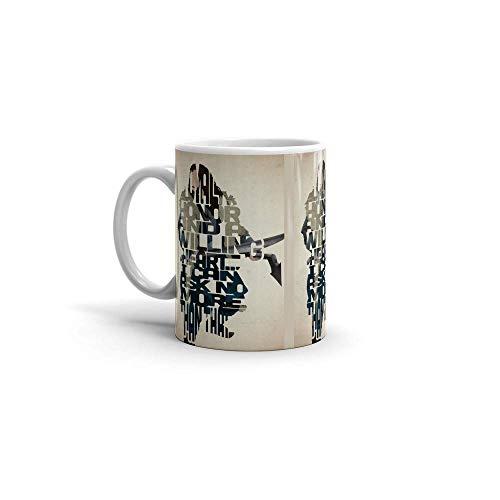 N\A Thorin Escudo de Roble - El Hobbit. Tazas de café de cerámica de 11 oz 38145