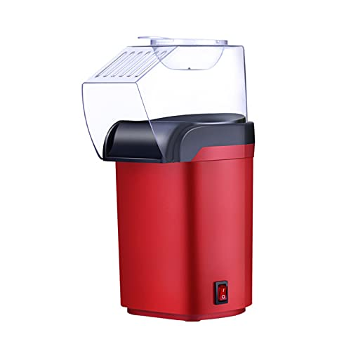 N\B Home Popcorn Machine,Automatic Popcorn Maker,Low-Calorie and Fat-Free,Simple Operation, Non-Stick Bottom, for Friends Gathering and Watching Movies