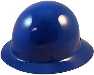 MSA Skullgard Full Brim Hard Hat with FasTrac III Ratchet Suspension - Blue