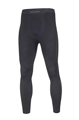BodyDry 'Caleçon X-Sharp de sous-vêtement de Ski Thermiques – Ski – pour Ski Snowboard Roue – sous-Vêtement Moto – sous-vêtements Thermiques XXL Noir - Noir
