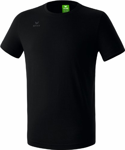 erima Kinder T-Shirt Teamsport, Schwarz, 128, 208330