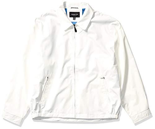 LONDON FOG メンズ オーバーン ジップフロント ゴルフジャケット (レギュラー&ビッグトールサイズ) US サイズ: 2X-Large Tall カラー: ホワイト