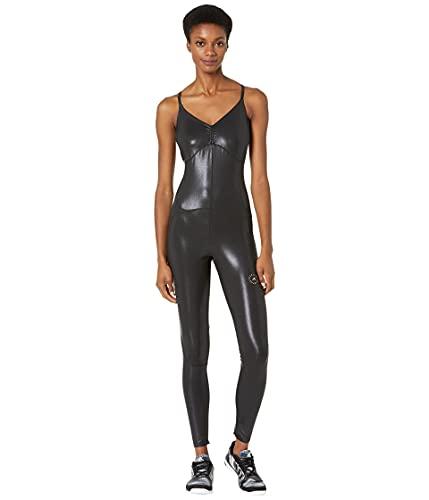 adidas by Stella McCartney Women's ASMC Shine Onesie, Black, X-Small