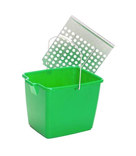Cubeta Para Rodillo Pintar Profesiona Con Rejilla 15 litros