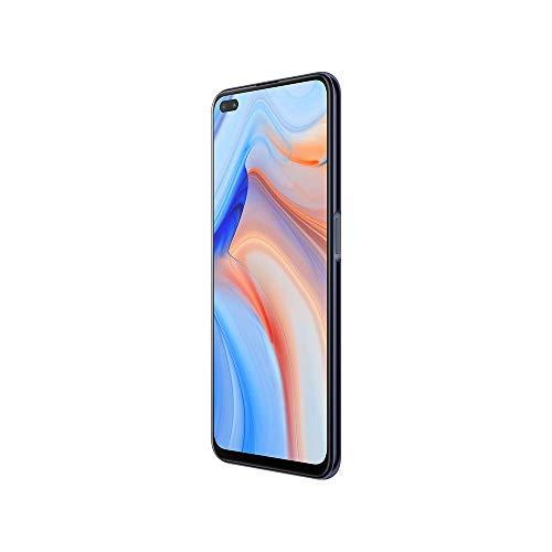 OPPO Reno 4 Z - Smartphone 5G Débloqué - Téléphone 5G 128 Go - 8 Go de RAM - Écran 120 Hz - Batterie 4000 mAh - Quadruple Capteur Photo 48 MP - USB-C - Android 10 - Noir Encre