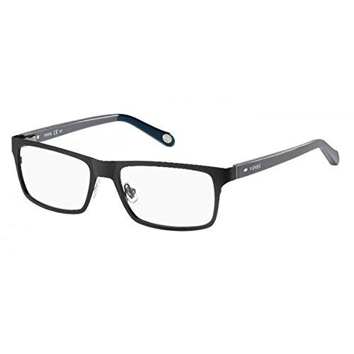 Fossil Brillengestelle FOS 6069 Rechteckig Brillengestelle 53, Mehrfarbig