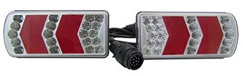 Berger & Schröter 20230 LED Glo Track Beleuchtung f. Anhänger 5m, 220x105x40mm