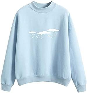 KOICOCO Sweatshirt Women'S Long Sleeved Women'S Sweatshirt Print Round Neck Sweatshirt Women