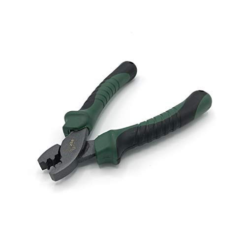 Zite Fishing Klemmhülsen-Zange Angeln mit Zähnen - Angel-Werkzeug für Quetschhülsen mit Komfortgriff - 15 cm