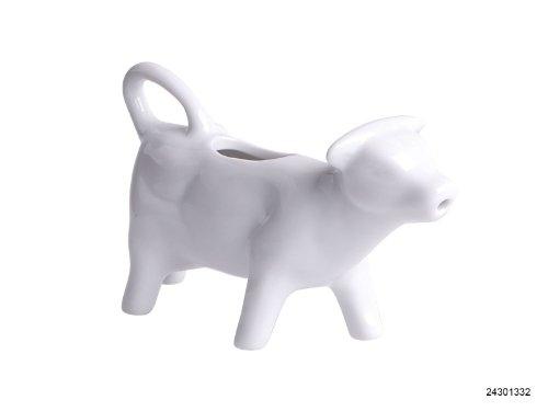 Caraffa per latte a forma di mucca in ceramica, 0,08litri