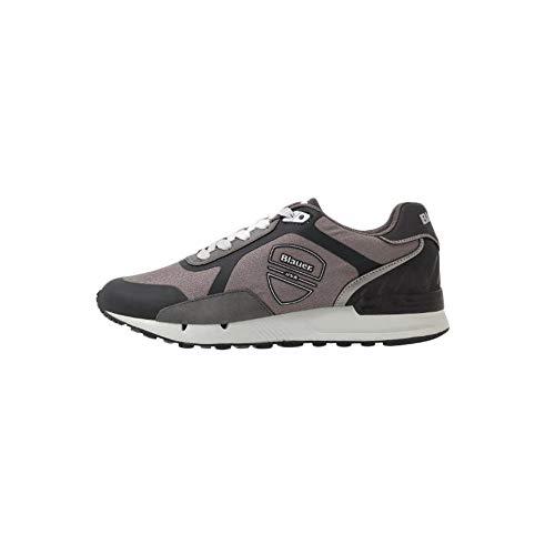 Blauer F0TYLER03-NYL-GRY - Zapatillas para hombre Gris Size: 45 EU