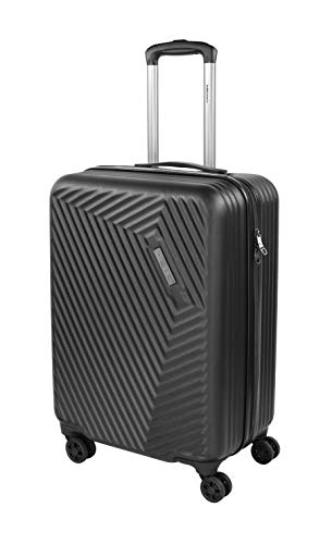 HEAD Suitcase 'Hard 14' 64.5 x 42 x 27-63 Liter - 4 Rolls Travel Case, Black