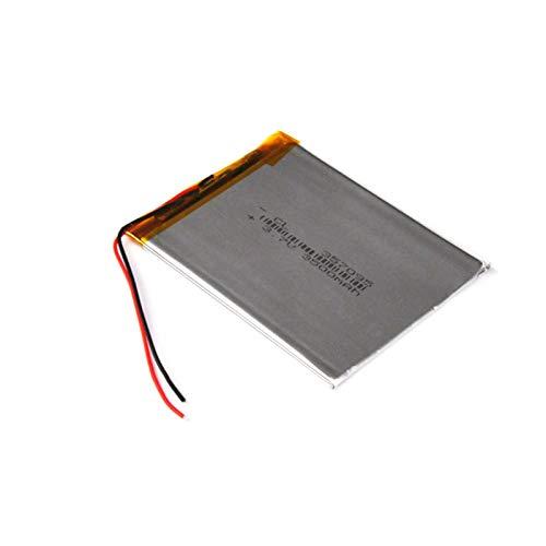 FCQLR Compatible para 3.7V Polymer Lithium Ion batería 357095 Rechargeable lipo li-Ion Cell 3500mAh para E-Book DVD 7 Inch Tablet PC Q8 357096
