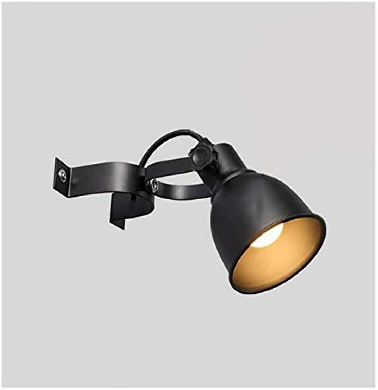 HBLJ Nachttischlampe Wandlampe Wandstrahler Metall Gang Wasserleitung Korridor Verstellbare Wandleuchte Wandleuchte Kreativitt Nostalgie Balkon Vintage Farbe Eisen Wandlaterne