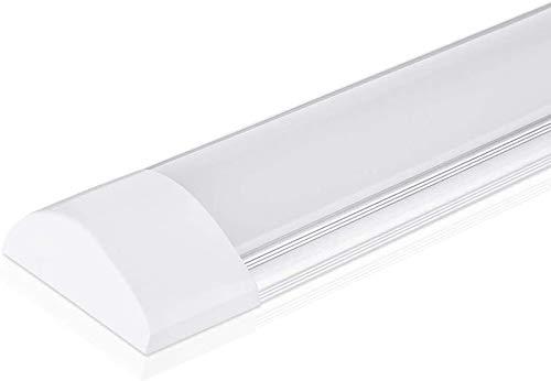 10W LED Deckenleuchte Röhre Licht 30CM, mit 1200LM in Neutralweiß 4000K, 130° Abstrahlwinkel für Badzimmer Wohnzimmer Küche Garage Lager Werkstatt von pingouGo