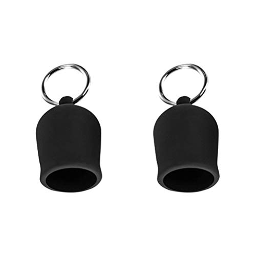 FUNZZY Niple Sacker Ring Brest Suction Cup B0dy Msager Fliting Toy for Women (Black)