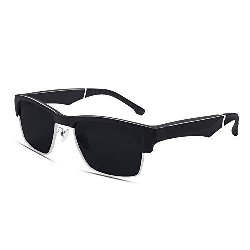 Staright K2 Smart Sunglasses Wireless BT5.0 Auriculares estéreo Manos Libres Llamadas Música Audio Gafas de Sol Control de Voz Gafas de Sol polarizadas