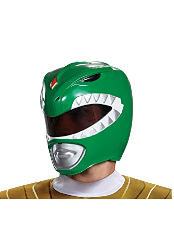 Disguise Adult Green Ranger Helmet Standard