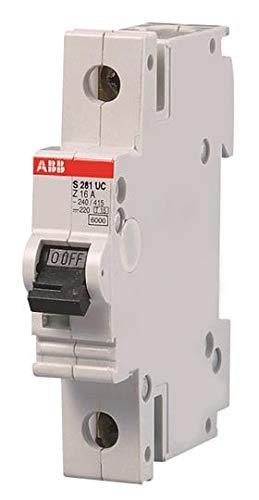 Abb Interruttore Magnetotermico Automatico - S281 UC FS - 1P - Z - 6 Ampere EF 726 3