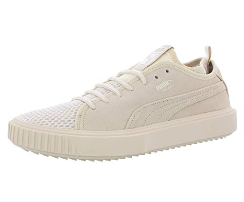 PUMA Mens 366987 03 Low Top Lace Up Fashion Sneakers, Birch, Size 9.5