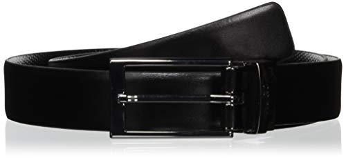 HUGO Gilvin_sr30_PS Cinturón, Negro (Black 1), 120 (Talla del fabricante: 105) para...