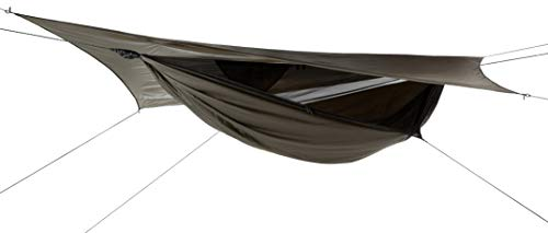 Hennessy Hammock Jungle Explorer Zip - Lightweight Camping and Survival Shelter for Hikers, Boy Scouts, Preppers, Soldiers, Military Units, Explorers, Scientific and Medical Expeditions.