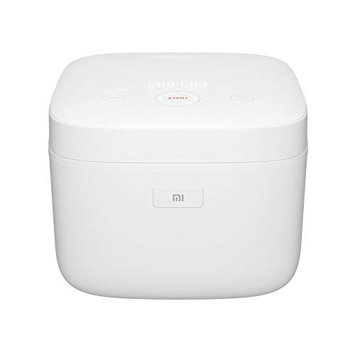 Xiaomi Mi Induction Heating Rice Cooker Induktionsreiskocher mit optionaler iOS/Android App-Steuerung (3 Liter, 3mm hochwertige Kochschale, Kochgrad einstellbar, Timerfunktion, Warmhaltefunktion)