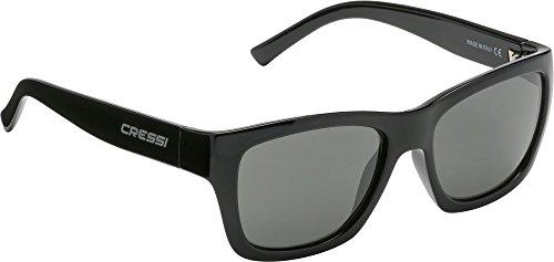 Cressi Prestige Sonnenbrille, Schwarz, Uni