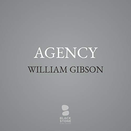Agency audiobook cover art