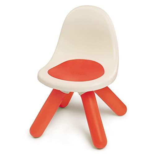 Smoby - Kid Stuhl Rot – Design Kinderstuhl für Kinder ab 18 Monaten, für Innen und Außen, Kunststoff, ideal für Garten, Terrasse, Kinderzimmer