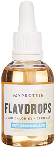 Myprotein Integratore Flavdrops White Chocolate - 100 ml