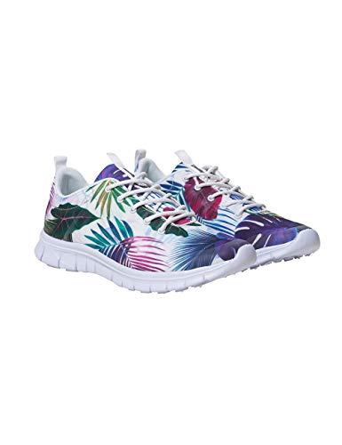 Desigual Shoes (Running Bio Patching), Zapatillas Mujer, Blanco (Blanco 1000), 39 EU
